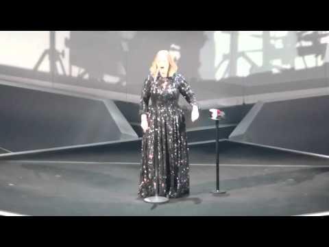 Adele - Live Glasgow 2016 - Water under the Bridge - 25- 03-2016