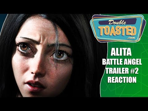 ALITA BATTLE ANGEL TRAILER #2 REACTION - And how it compares to the anime