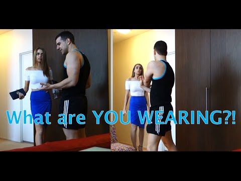 Changing my Girlfriend's Clothes PRANK!