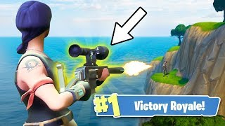 HOW TO GET THE SECRET LEGENDARY SNIPER! (Fortnite: Battle Royale)