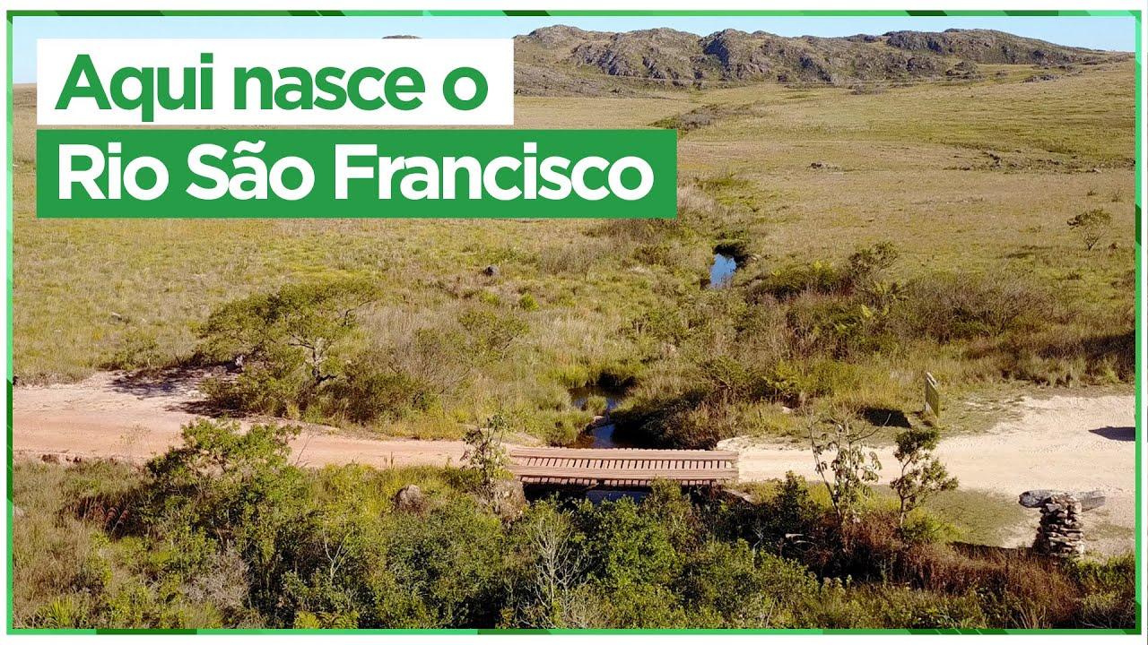 Conheça a nascente do Rio São Francisco, na Serra da Canastra, em Minas Gerais