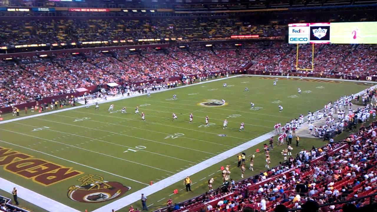 Redskins Vs Buccaneers At Fedex Field