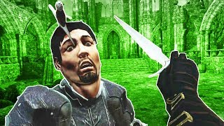 Throwing Daggers at Gladiators in VR! - Blade and Sorcery Gameplay - VR HTC Vive