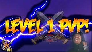 LEVEL 1 PVP HOW DO YOU DO THIS?! (Wizard101 PvP)