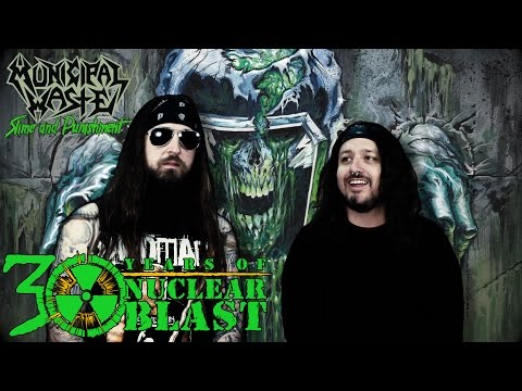MUNICIPAL WASTE - Album Recording: Slime and Punishment (OFFICIAL INTERVIEW)