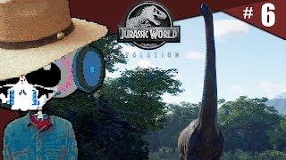 Les long cou   Jurassic World Evolution #6 [GAMEPLAY - DÉCOUVERTE] [FR]