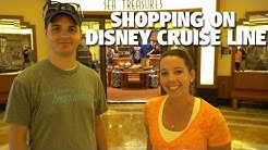 Shopping on the Disney Cruise Line | Disney Dream