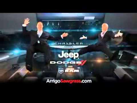 arrigo dodge chrysler jeep ram sawgrass doubles your down payment in fort lauderdale fl youtube. Black Bedroom Furniture Sets. Home Design Ideas