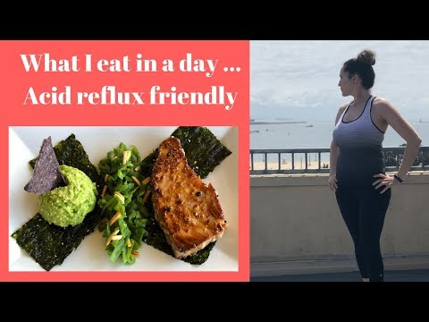 What I Eat In A Day..Healthy..Acid Reflux Diet