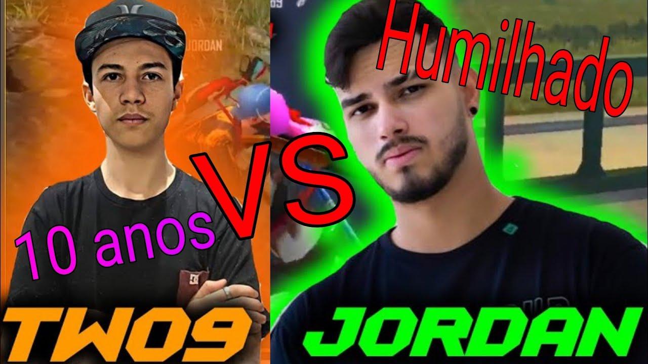 10 ANOS E JÁ AMASSOU LOUD JORDAN EM LIVE - TWO9 vs LOUD JORDAN