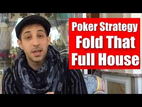 Advanced Poker Tournament Strategy: Fold That Full House! █-█otD 49