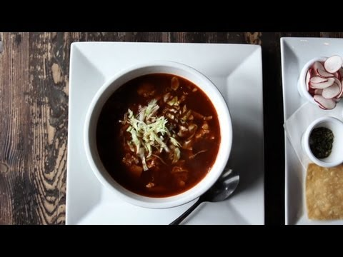 Make NY CHOW Report - Pozole Garibaldi at Mesa Coyoacan Pics