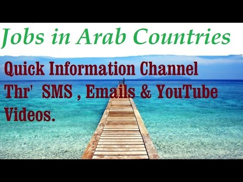 Jobs In Arab Countries . Quick Information Channel.