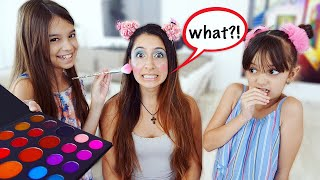 FUNNY PRANKS On Our Babysitter! Awesome Bloss'ems Inspired Makeover