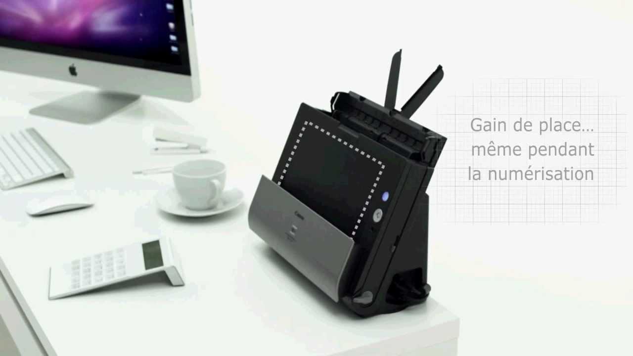 canon dr c125 scanner de bureau d couvrez ses fonctionnalit s youtube. Black Bedroom Furniture Sets. Home Design Ideas