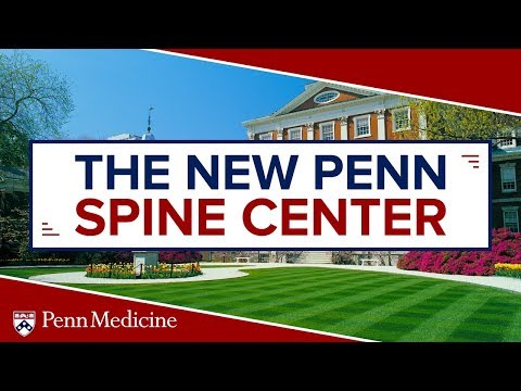 The Spine Center At Pennsylvania Hospital