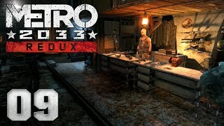 🔥 METRO 2033 REDUX [009] [Flucht aus der Station] Let's Play Gameplay Deutsch German thumbnail