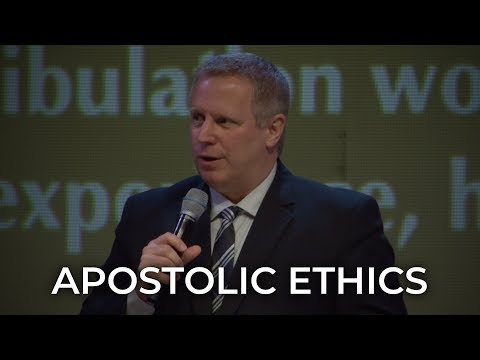 Apostolic Ethics – Pastor Raymond Woodward