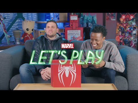 Chris Distefano learns how to play Marvel's Spider-Man for PS4 | Marvel Let's Play
