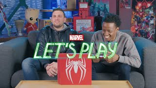 Chris Distefano learns how to play Marvel's Spider Man for PS4 | Marvel Let's Play