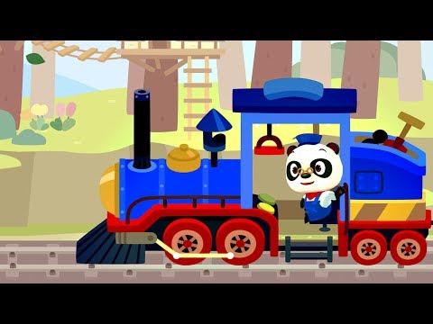 ДОКТОР ПАНДА ПОЕЗД РАЗВИВАЮЩИЙ МУЛЬТФИЛЬМ ДЛЯ ДЕТЕЙ. Dr Panda Train