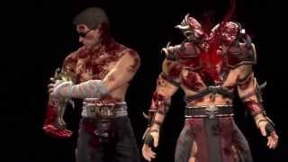 Mortal Kombat 9  Все фаталити демонстрируются на Шао Кане HD
