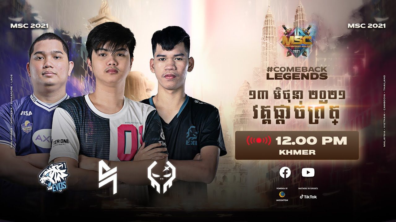 Download [Khmer] MSC Playoff �្ងៃទី ៣   MLBB Southeast Asia Cup 2021