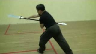 3 points 2 edges sword
