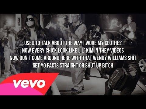 Lil' Kim - Shut Up Bitch (Lyrics Video) HD