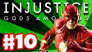 Injustice: Gods Among Us - Gameplay Walkthrough Part 10 - The Flash (PS3, XBox 360, Wii U)(Thanks for every Like and Favorite! They really help! This is Part 10 of the Injustice Gods Among Us Gameplay Walkthrough for the PS3! It includes Chapter 10: ..., 2013-04-20T22:00:18.000Z)