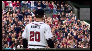 MLB® 15 The Show™ Yankees verusus Braves