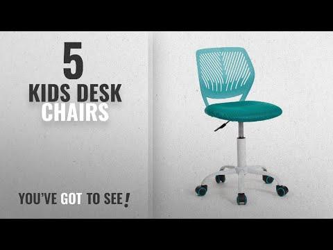 Kids Desk Chairs [2018]: GreenForest Office Task Desk Chair Adjustable Mid Back Home Children Study