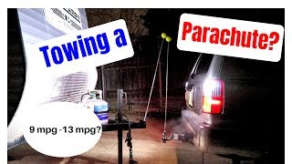 Am I towing a travel trailer or a parachute? Crappy gas mileage