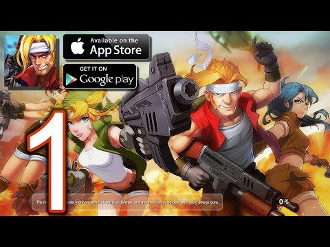 Metal Slug XX Online Android iOS Walkthrough - Gameplay Part 1 - Chapter 1: Shore Landing