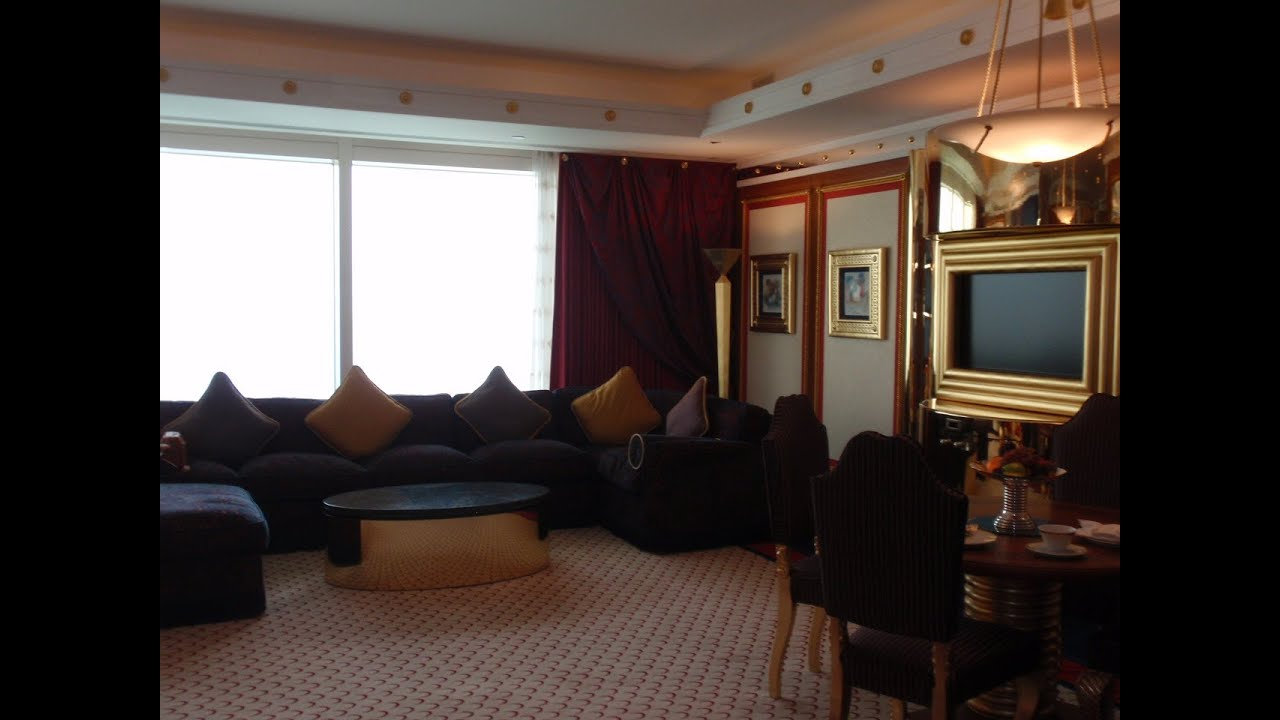 Dubai burj al arab deluxe one bedroom suite part 1 for Burj al arab suite
