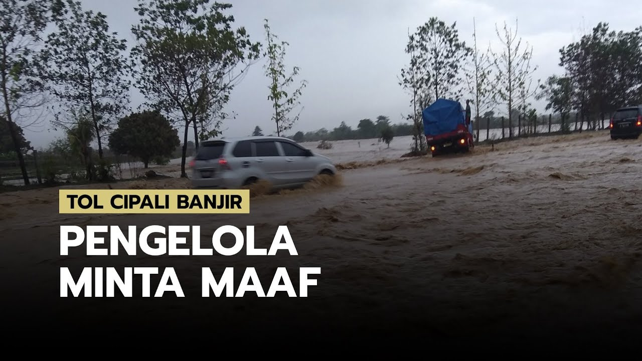 Tol Cipali Tergenang Banjir, Pengelola Sampaikan