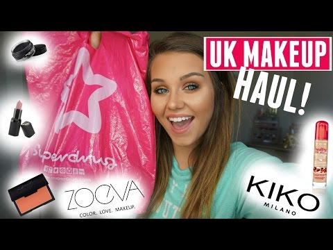MASSIVE UK MAKEUP HAUL!!! from YouTube · Duration:  18 minutes 6 seconds