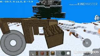 How to make a small and beautifull house in multicraft easily | Multicraft | World Of Gaming
