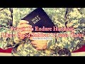 Prayer To Endure Hardship Like a Good Soldier Of Jesus Christ