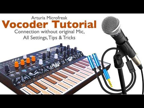 Arturia Microfreak Ultimate Vocoder Tutorial. Microphone Connection, Settings, Tips & Tricks.