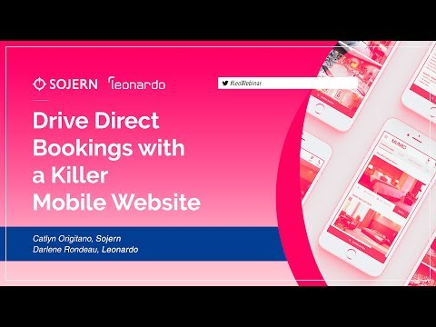 Drive Direct Bookings with a Killer Mobile Website