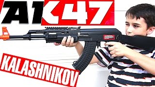 Kalashnikov AK47 RIS Tactical Full Stock Version Airsoft Gun