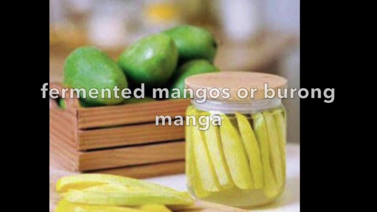Pinoy Recipe Burong Mangga Or Fermented Mango Youtube Sirup By Sirop Gendhis