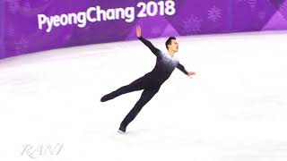 Chan Patrick Short program(SP) 4K 180216 Pyeongchang 2018 Figure Skating Men Single