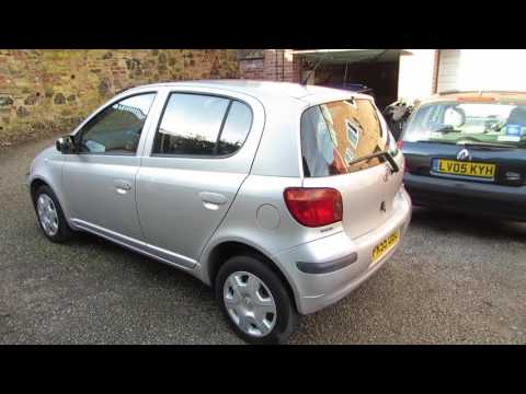 SALES REVIEW 010 - 2005 (55) TOYOTA YARIS 1.3 VVTI T3 *FULL TOYOTA SERVICE HISTORY* *ONE OWNER*