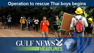 GN Headlines - Operation to rescue Thai boys begins