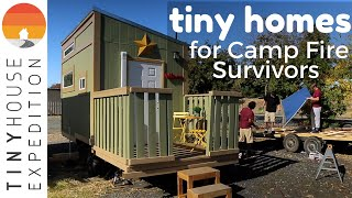 Tiny Homes For Camp Fire Survivors, From Destruction To Hope