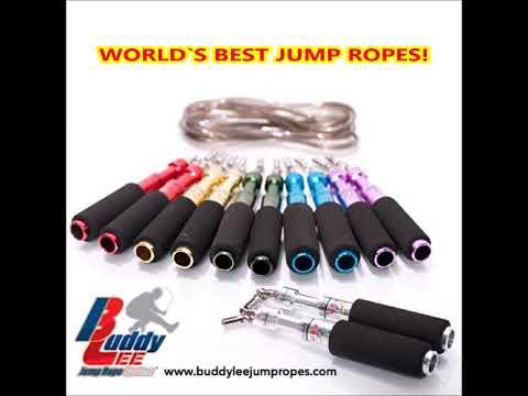 Jump Rope Legend Buddy Lee demonstrating his powers
