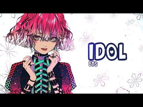 Nightcore - IDOL (Female version) - (Lyrics)