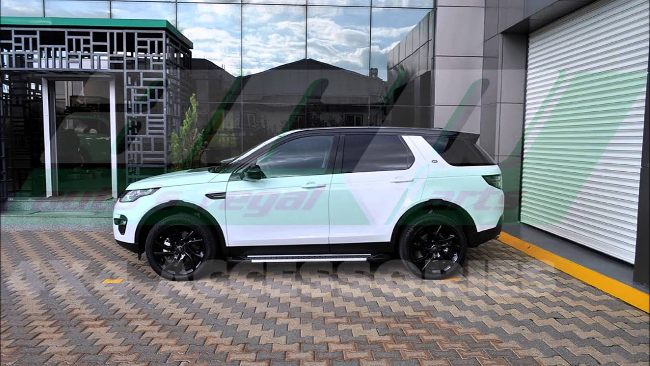 Discovery Sport Side Steps Youtube